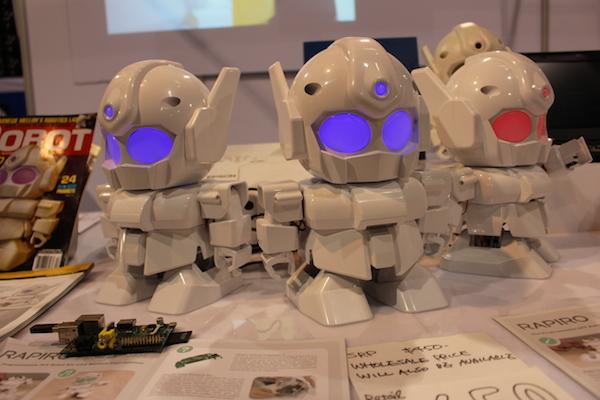 Чиби-роботы RAPIRO
