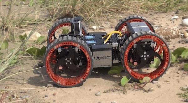 Конструктор роботов Cagebot