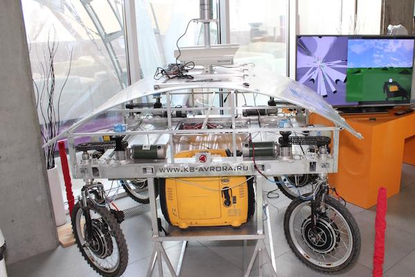 Автономный автомобиль от КБ-Аврора