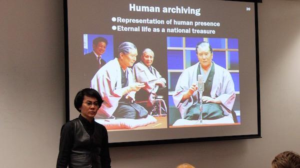 Архивирование человека с помощью робота-андройда