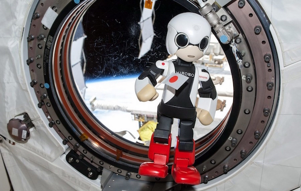 Робот Kiribo на МКС